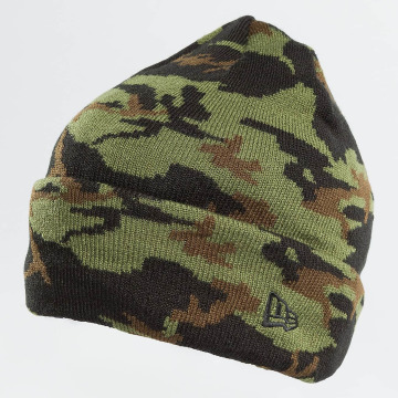 New Era Beanie New Era Camo Cuff Beanie Woodland camouflage