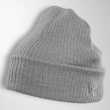 New Era Beanie Lightweight Cuff Knit grau