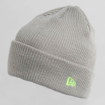 New Era Beanie Flag Pop Cuff grau