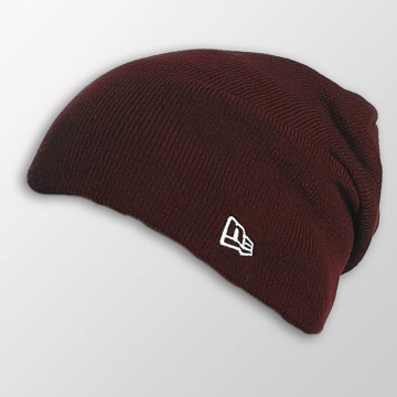 New Era Beanie Seasonal Long Knit rot