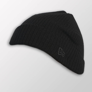 New Era Beanie Lightweight Cuff Knit schwarz