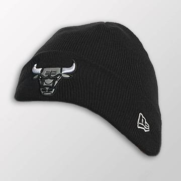 New Era Beanie Reflect Cuff Knit Chicago Bulls schwarz