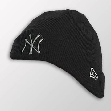 New Era Beanie Reflect Cuff Knit NY Yankees zwart