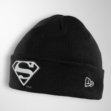 New Era Beanie Reflect Cuff Knit Superman zwart