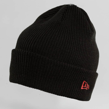 New Era Beanie Flag Pop Cuff zwart