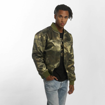 New Era Bomber jacket BNG Chicago Bulls Sateen olive
