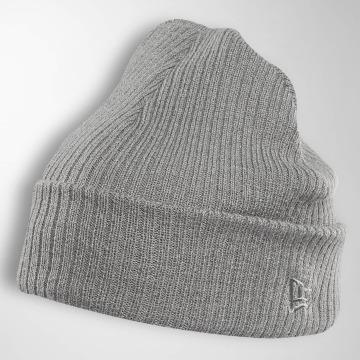 New Era Bonnet Lightweight Cuff Knit gris