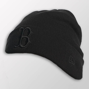 New Era Bonnet Seasonal Cuff Boston Red Sox noir