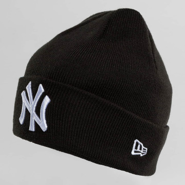 New Era Bonnet New Era Essential Cuff NY Yankees Beanie noir