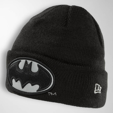 New Era Bonnet Reflect Cuff Knit Batman noir