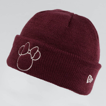 New Era Bonnet Disney Silhoutte Minnie Maus rouge