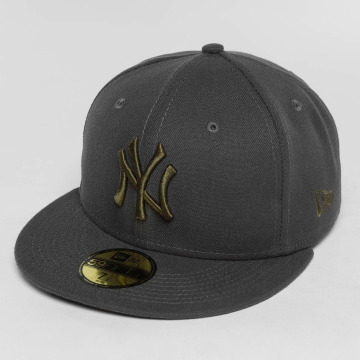 New Era Casquette Fitted League Essential NY Yankees 59Fifty gris