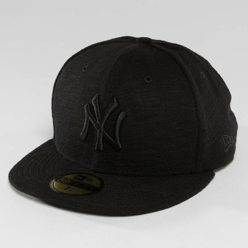 New Era Casquette Fitted Slub NY Yankees 59Fifty noir