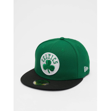 New Era Casquette Fitted NBA Basic Boston Celtics 59Fifty vert