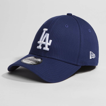 New Era Casquette Flex Fitted Washed Team Colour LA Dodgers bleu