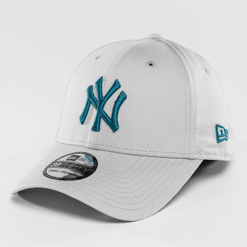 New Era Casquette Flex Fitted League Essential NY Yankees 39Thirty gris