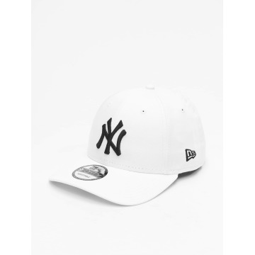 New Era Casquette Snapback & Strapback League Basic NY Yankees blanc