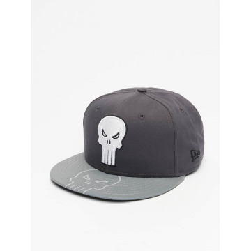 New Era Casquette Snapback & Strapback Reflecto Punisher gris