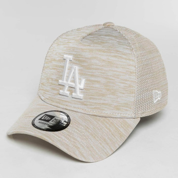 New Era Casquette Snapback & Strapback New Era Engineered Fit LA Dodgers gris