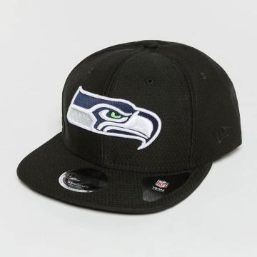 New Era Casquette Snapback & Strapback Dryera Tech Seattle Seahawks 9Fifty Snapback noir