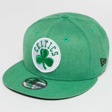 New Era Casquette Snapback & Strapback Team Heather Boston Celtics 9Fifty vert