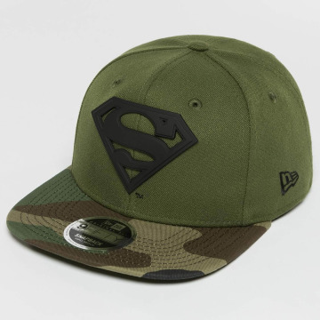 New Era Casquette Snapback & Strapback Camo MTL Hero Superman 9Fifty vert