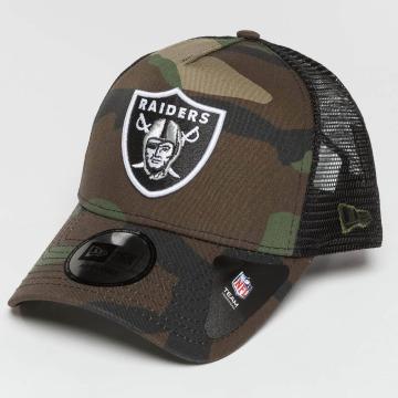 New Era Casquette Trucker mesh Camo Team Oakland Raiders camouflage