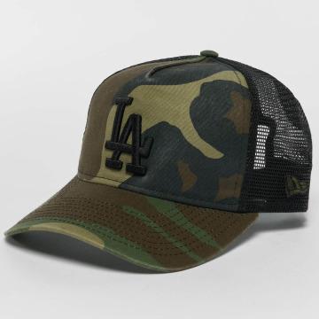 New Era Casquette Trucker mesh Washed Camo LA Dodgers camouflage