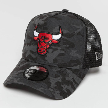 New Era Casquette Trucker mesh Camo Team Chicago Bulls multicolore