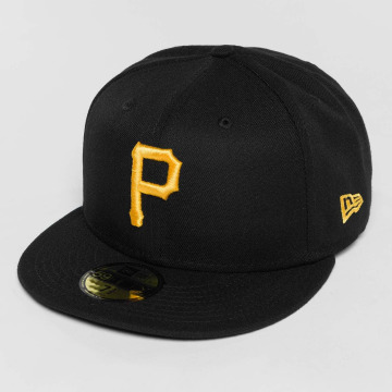 New Era Fitted Cap Acperf Pittsburgh Pirates 59Fifty èierna