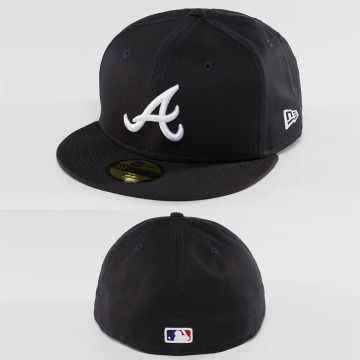 New Era Fitted Cap League Essential Atlanta Braves 59Fifty blau