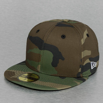 New Era Fitted Cap Flag Essential camouflage