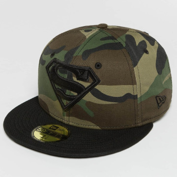 New Era Fitted Cap Camohero Superman camouflage