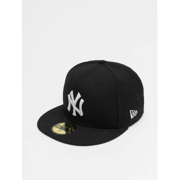 New Era Fitted Cap MLB Basic NY Yankees czarny