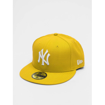 New Era Fitted Cap MLB Basic NY Yankees 59Fifty gelb