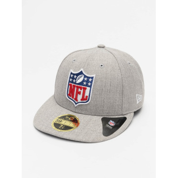 New Era Fitted Cap League Logo NFL Generic Logo 59Fifty grau