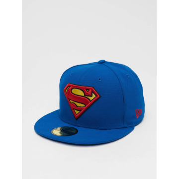 New Era Fitted Cap Character Basic Superman 59Fifty niebieski