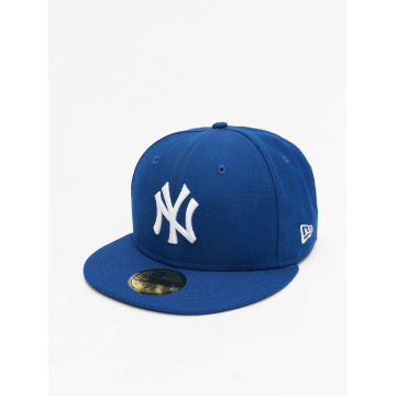 New Era Fitted Cap MLB Basic NY Yankees 59Fifty niebieski