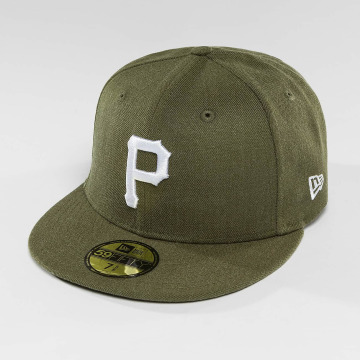 New Era Fitted Cap Seasonal Heather Pittsburgh Pirates 95Fifty olive