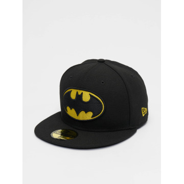 New Era Fitted Cap Character Basic Batman 59Fifty schwarz