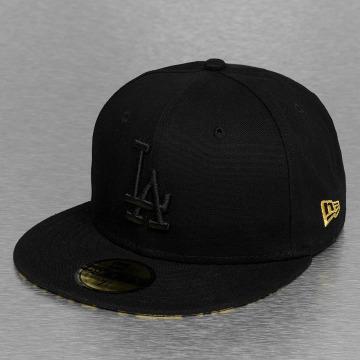 New Era Fitted Cap Leopard Los Angeles Dodgers schwarz