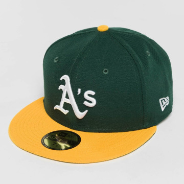 New Era Fitted Cap Acperf Oakland Athletics 59Fifty schwarz