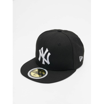 New Era Fitted Cap Kids MLB League Basic NY Yankees svart