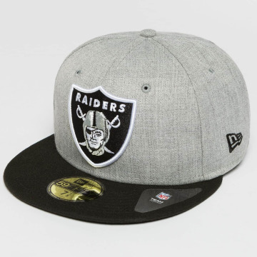 New Era Fitted Cap Oakland Raiders 59Fifty szary