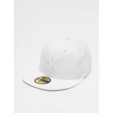 New Era Fitted Cap Optic NY Yankees 59Fifty white