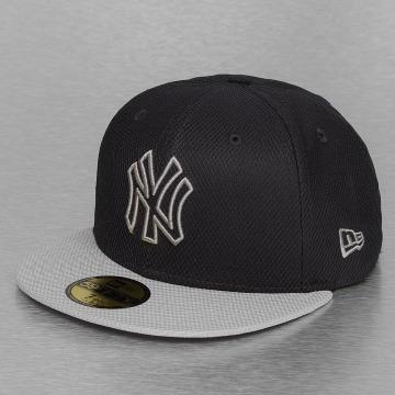 New Era Fitted Cap Diamond Basic New York Yankees zwart