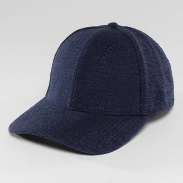New Era Flexfitted Cap Slub 39Thirty blau