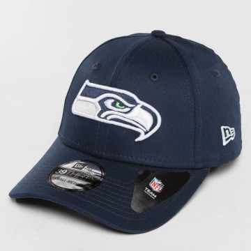 New Era Flexfitted Cap Team Essential Seattle Seahawks blue