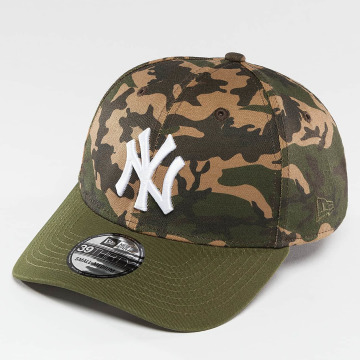 New Era Flexfitted Cap Camo Team Stretch NY Yankees 39Thirty Cap camouflage