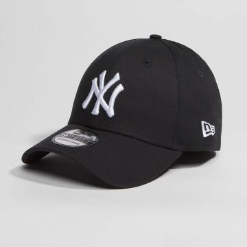 New Era Flexfitted Cap Washed Team Colour NY Yankees czarny